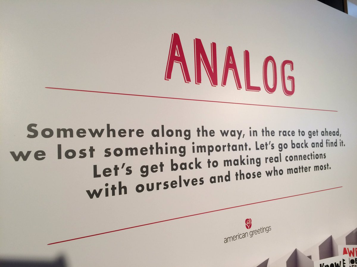 American greetings on twitter mikemckim thank you so much were american greetings on twitter mikemckim thank you so much were thrilled to hear you found analog a meaningful experience m4hsunfo