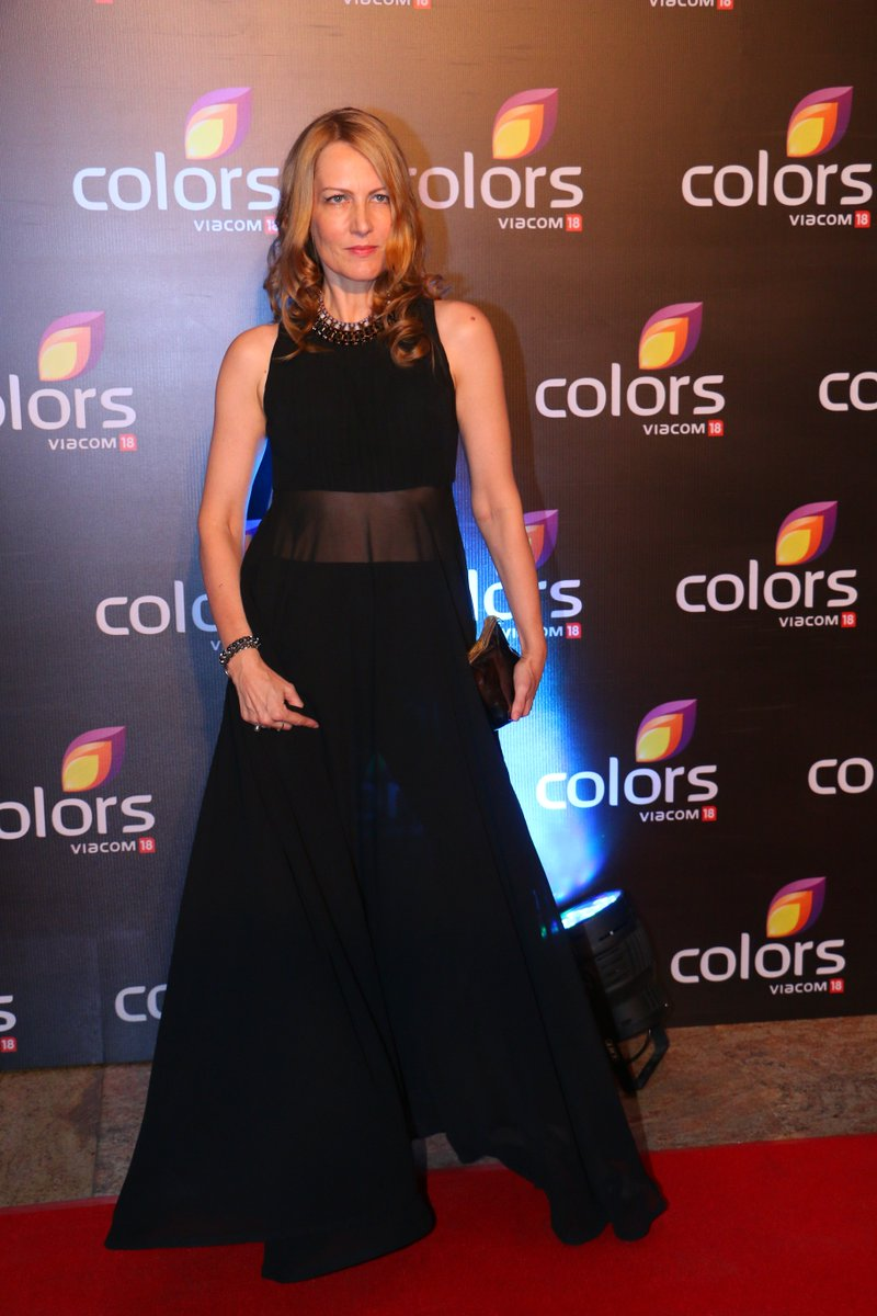 Suzaane Bernert aka Helena of Chakravartin Ashoka Samrat at Colors Party 2016 Image-Picture