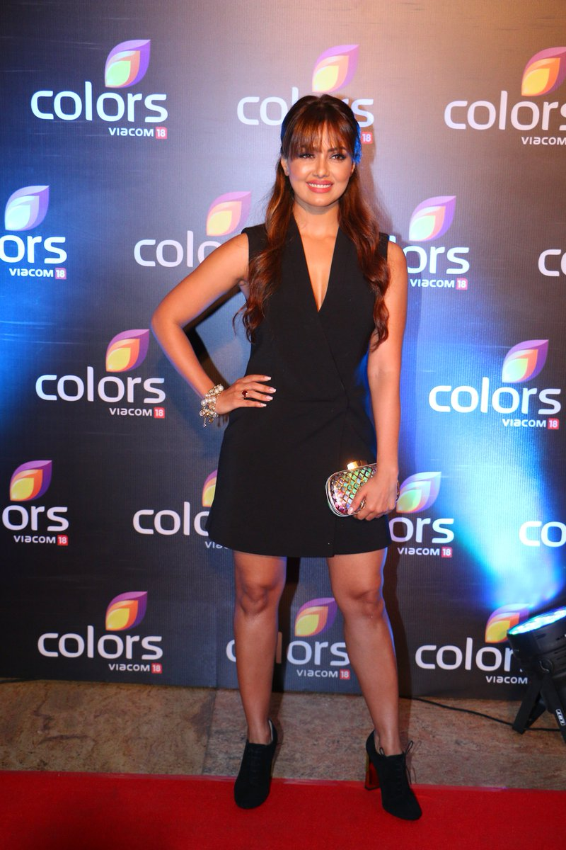 Sana Khan at Colors Party 2016 Image-Photo