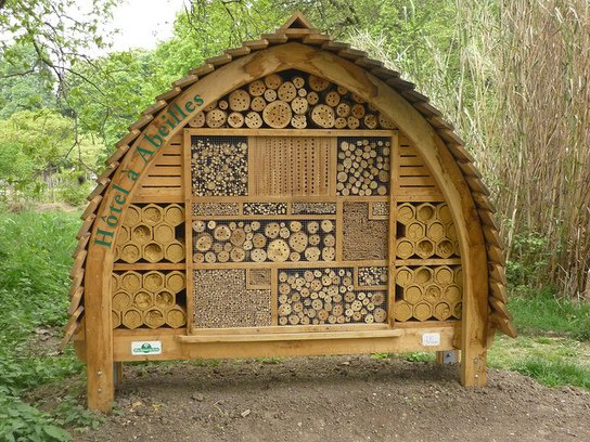 Comment construire des hôtels à abeilles pour garantir la survie des #abeilles sauvages  https://t.co/aDuef2jDBp https://t.co/4eTJGa3EI5