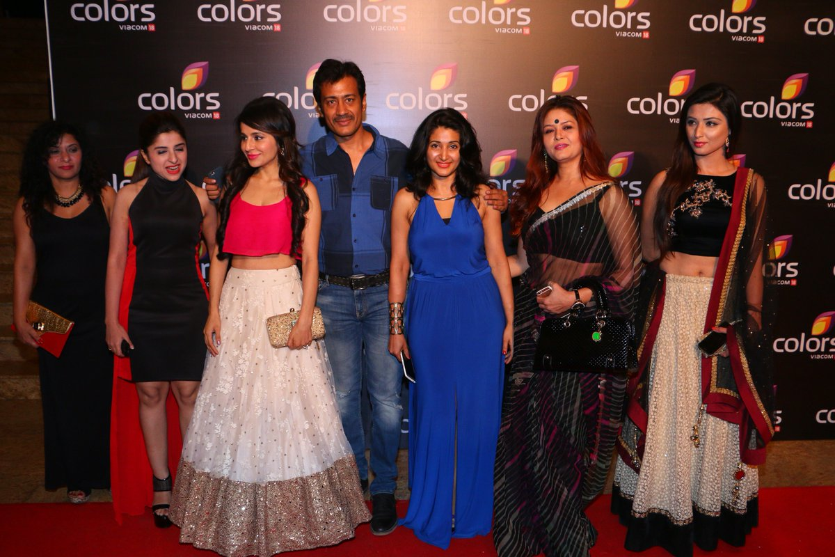 Swaragini Cast at Colors Party 2016 Image-Photo