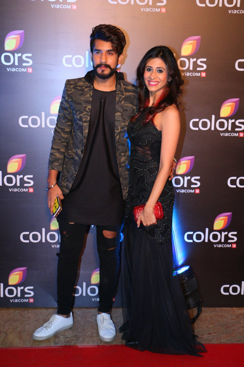 Kishwer Merchantt and Suyyash Rai at Colors Annual party 2016 Image - Latest Pic