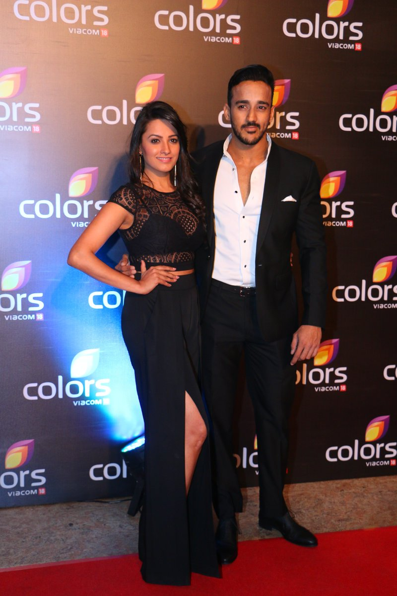 Anita Hassanandani and Rohit Reddy at Colors Annual Party 2016 Image, Latest Picture