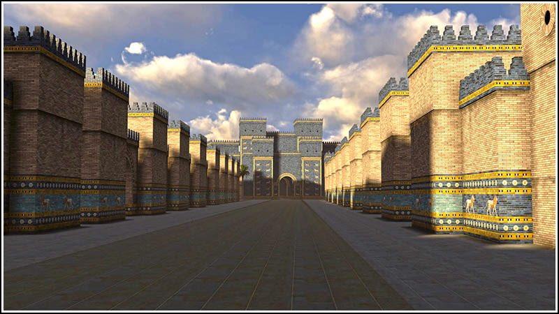نتيجة بحث الصور عن معبد مردوخ