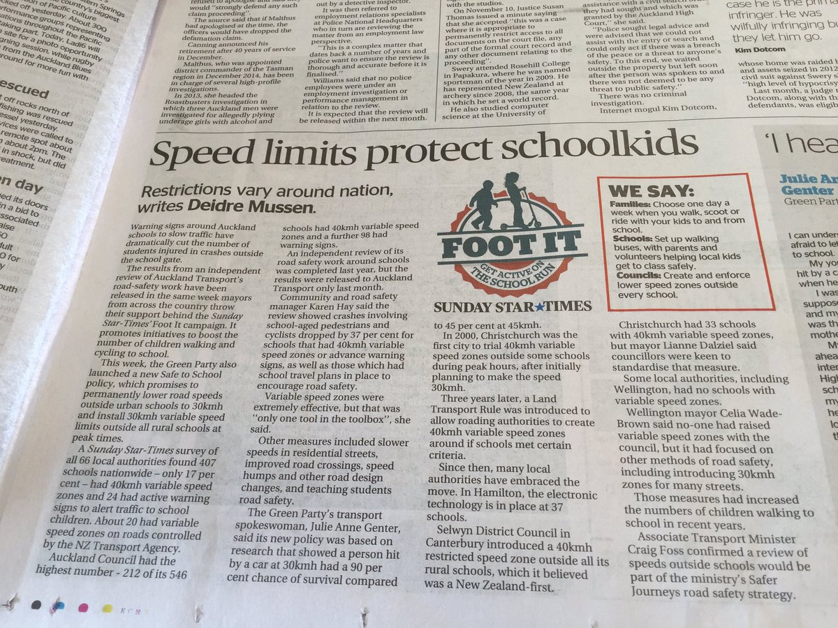 Strong support for @JulieAnneGenter's safer school zones campaign. And a very 90s throwback photo. https://t.co/3WjHsJEJCR