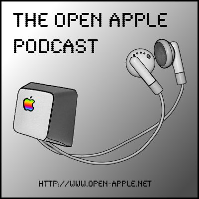 Find us at 1:10 on The Open Apple Podcast