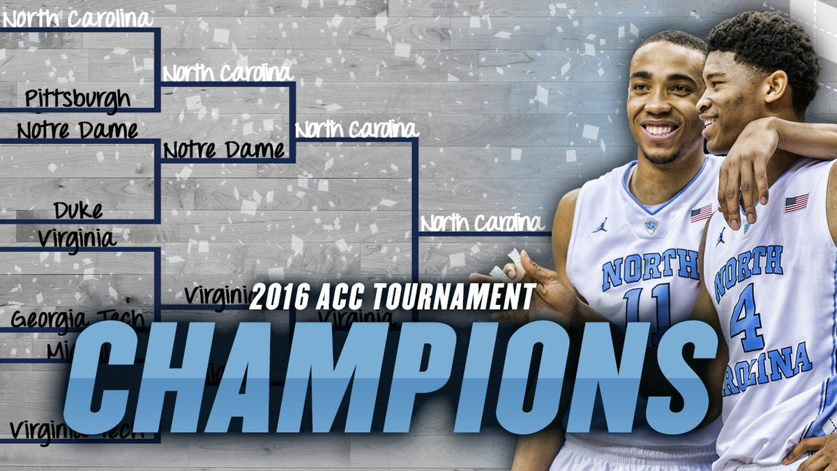 #ACCTourney Champs!