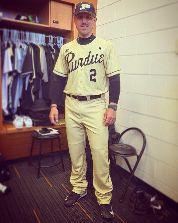 designer fashion 5b6cb c30b8 Purdue Baseball on Twitter: