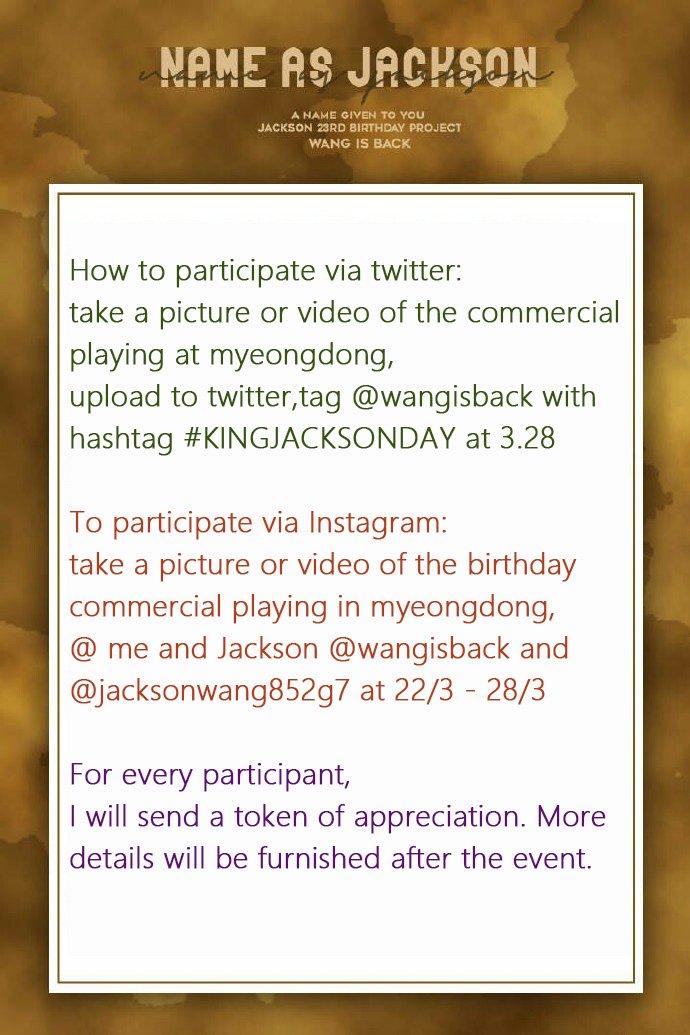 9266199f51cb Jackson Wang Daily on Twitter
