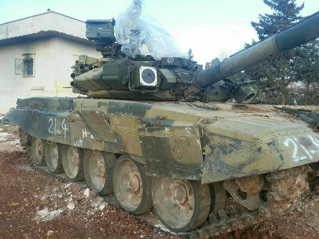 El tanque ruso T-90 Cd_cLgnVAAIXbD6