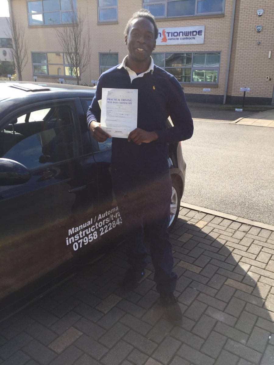 Congratulations Nathan for passing first time today #automaticdrivinglesson.com #westdidsburytestcebntre