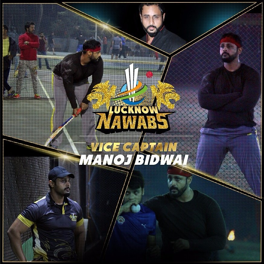 Lucknow Nawab, BCL Team, Vice Captain, Manoj Bidwai, BCL 2, Box Cricket League 2, Box Cricket League 2016, image, picture,