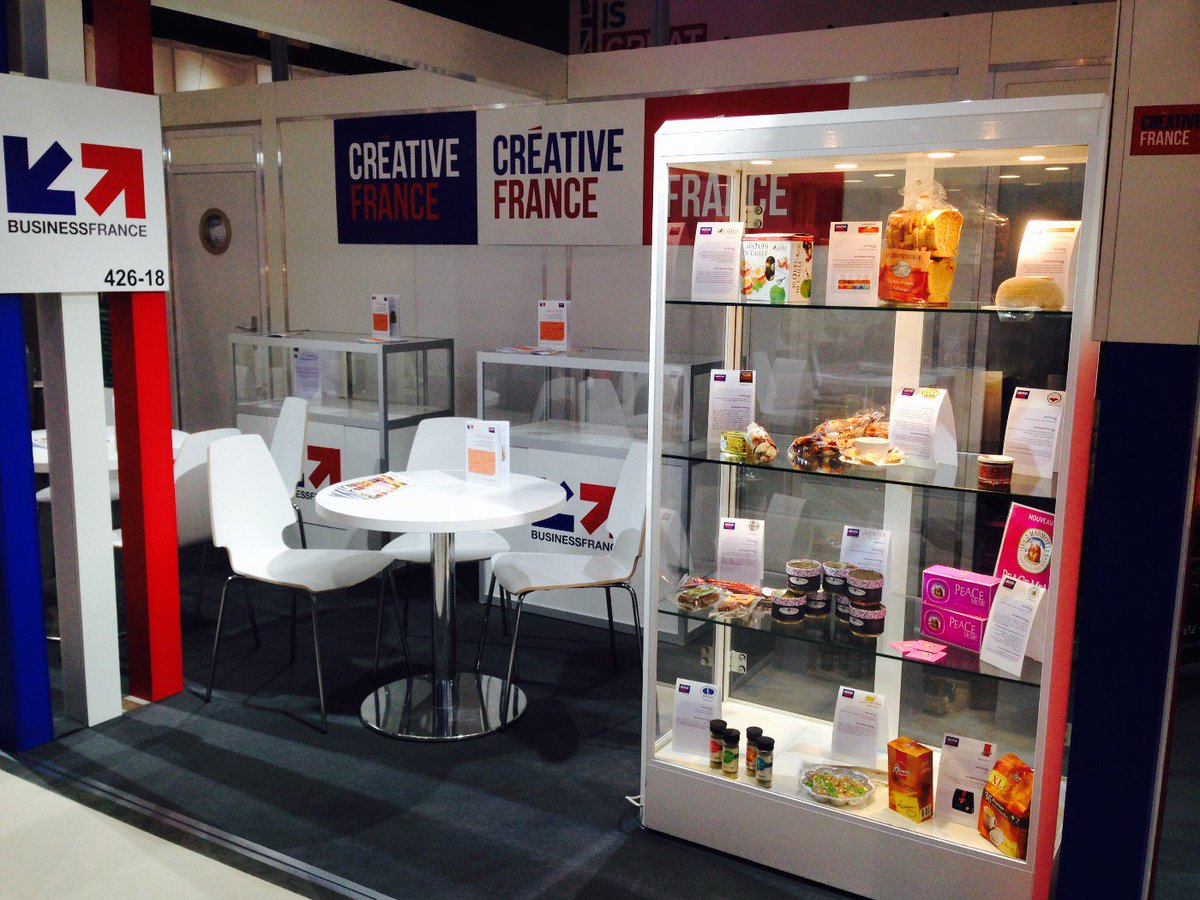 French Pavilion innovation corner at 426-18 @TAVOLA2016 fair.Come discover the latest and tastefull french products! https://t.co/0koQPepTSZ