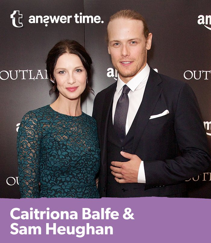 Caitriona and Sam will be answering your questions live TOMORROW at 4:50pm GMT on https://t.co/NE1Sd9g5rK #Outlander https://t.co/ozY4Bb1Eqb