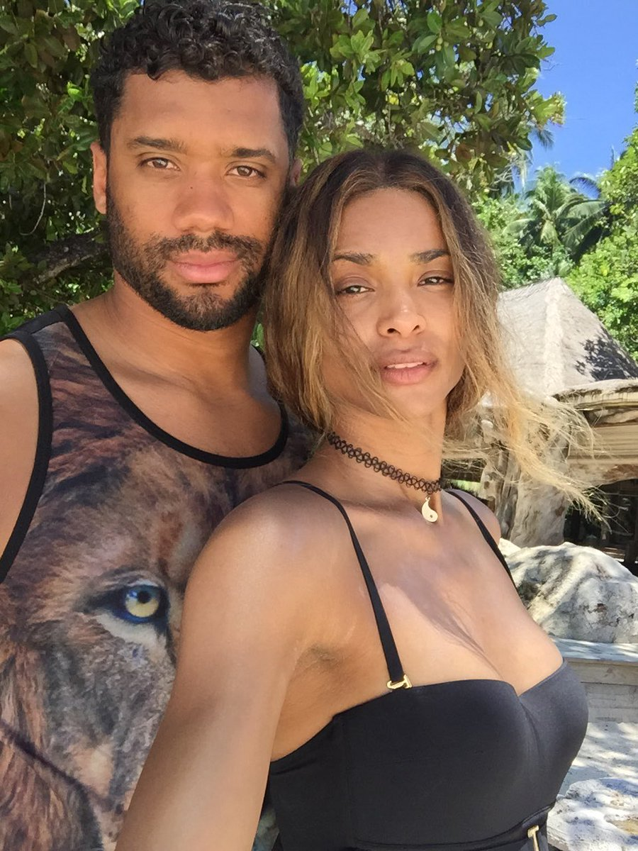Ciara Fiancee Russel Wilson engaged engagement ring