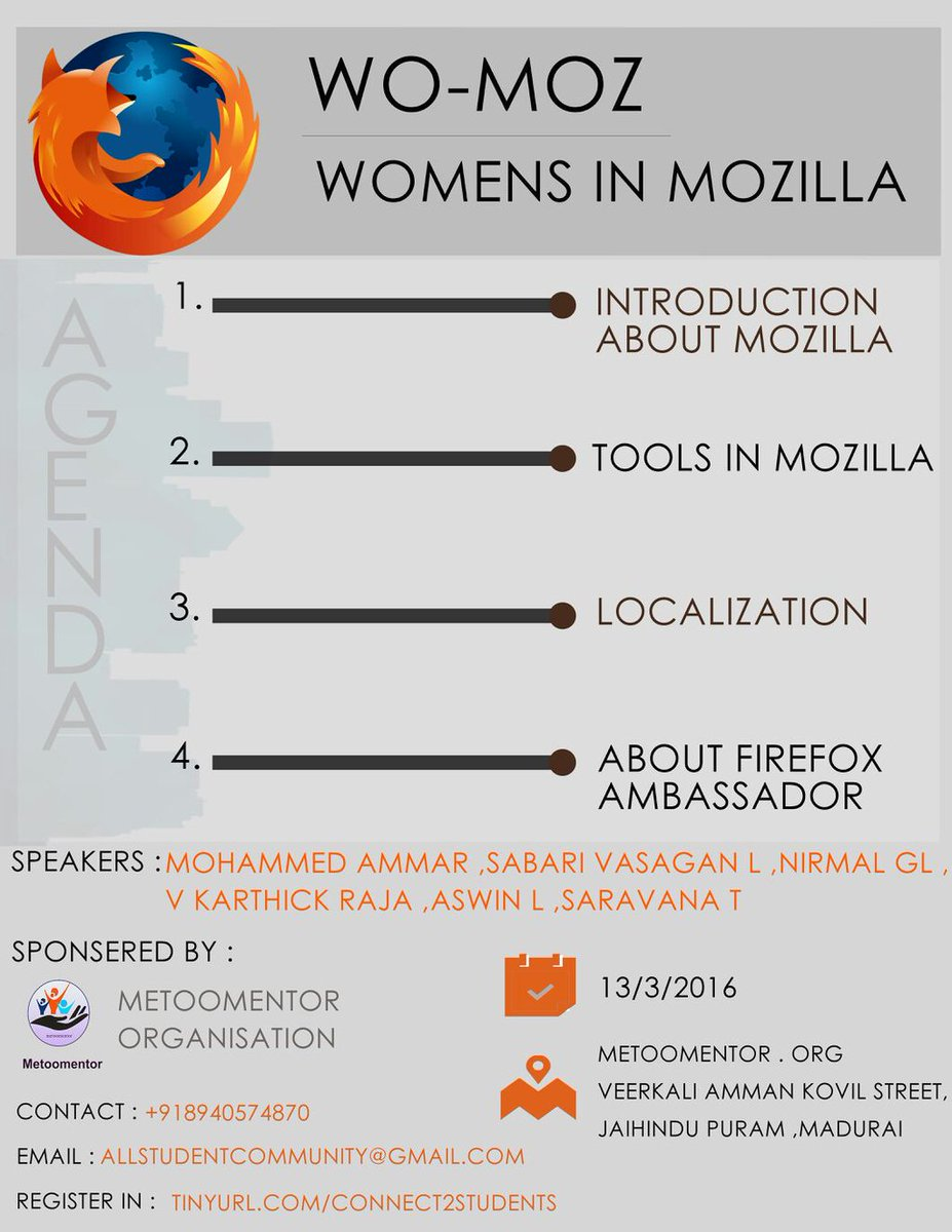Mozilla TamilNadu on Twitter: