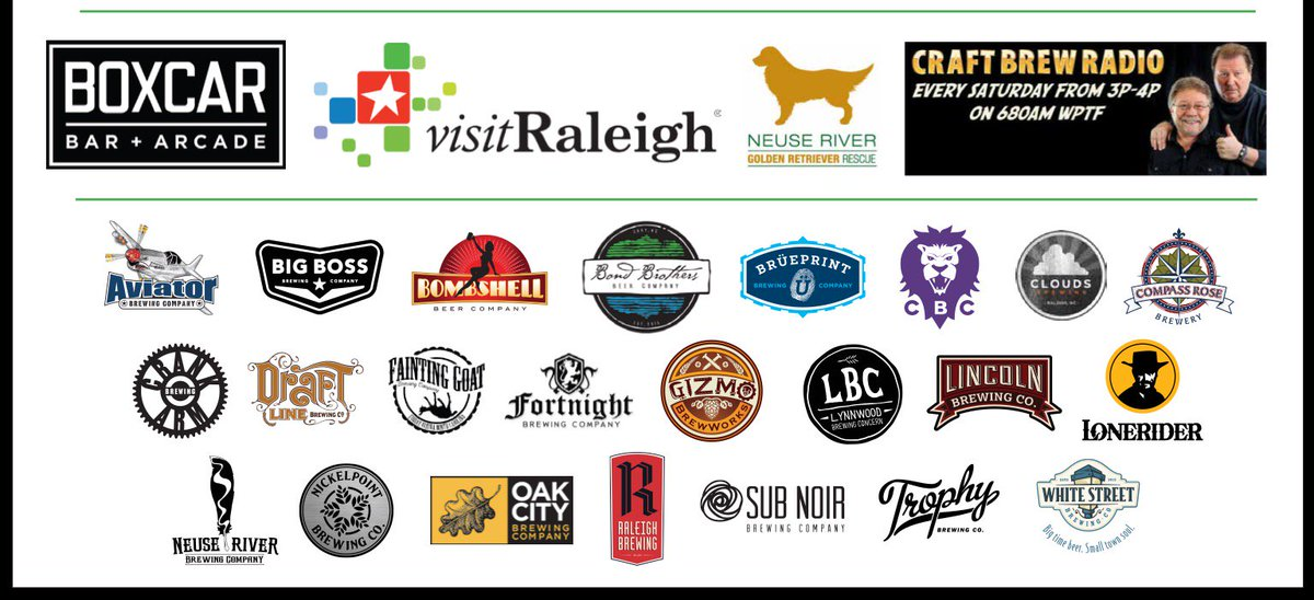Raleigh Beer Guide release and event info: https://t.co/fTimZSYHkZ https://t.co/dsYOGCrkrb