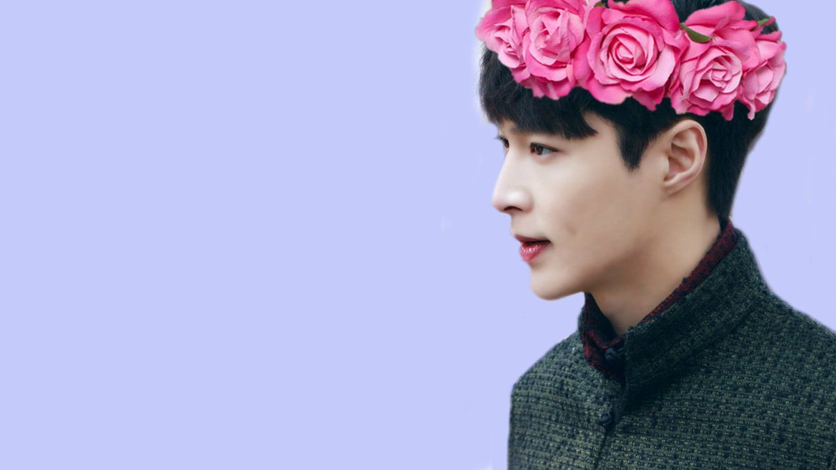 Anna On Twitter Yixing Flower Crown Pastel Edit Wallpapers Https