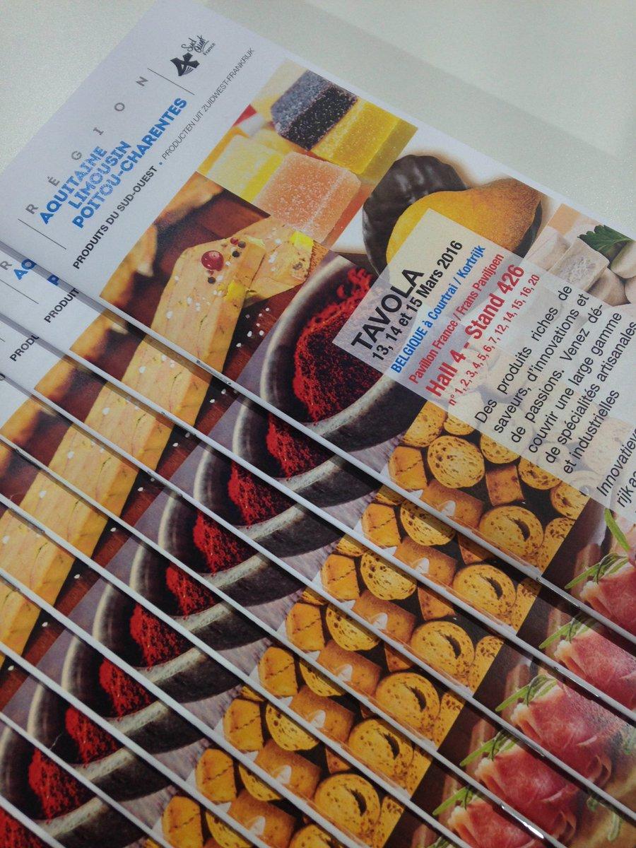 12 companies from the new 1st gastronomic area of Europe @Region_ALPC. See their fine food #franceTAVOLA @TAVOLA2016 https://t.co/kuB8au4ZuX