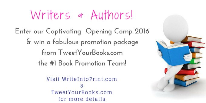 #KDP Authors Enter our Captivating Opening Comp Sponsors @TweetYourBooks ➡ https://t.co/nhwH4zJV4t #amwriting https://t.co/y0vF76PnPH