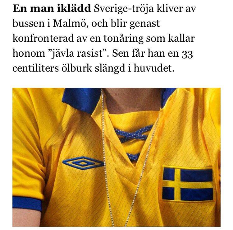 Polisen: Offer väljs ut för att de är svenskar