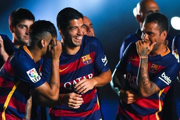 Barcelona players watching Arsenal against Watford https://t.co/ve6UVTdoc9