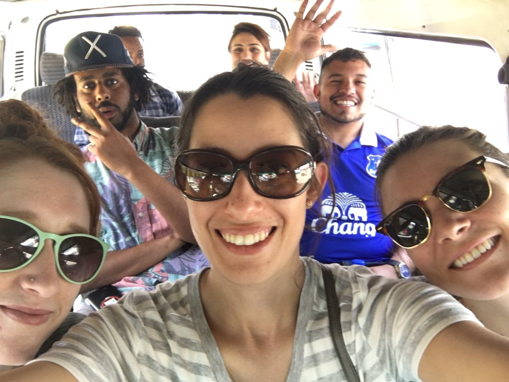 On our way to meet Lucy at the National Museum of #Ethiopia #MPDabroad https://t.co/My7E34viRd