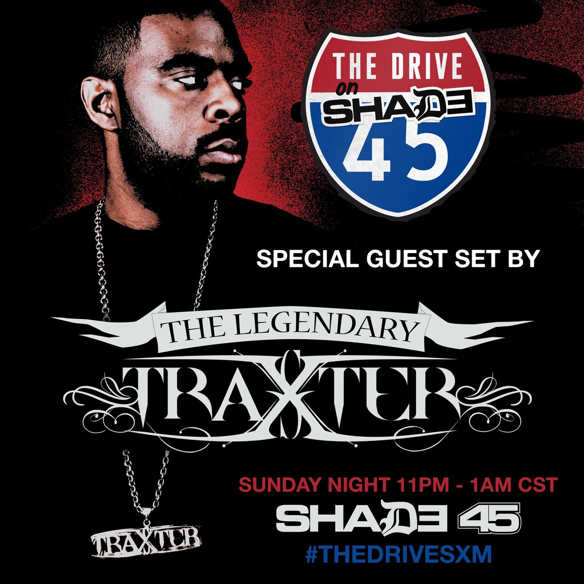 #TONIGHT‼️ @TheDriveSXM  #Traxster Takeover
