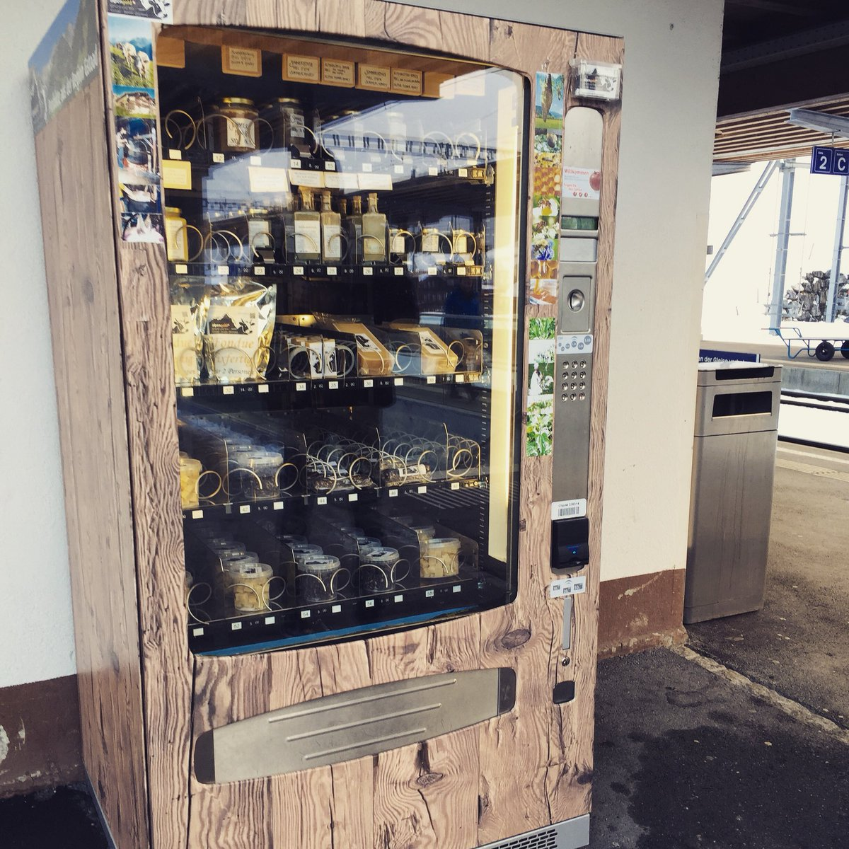cheese vending machine