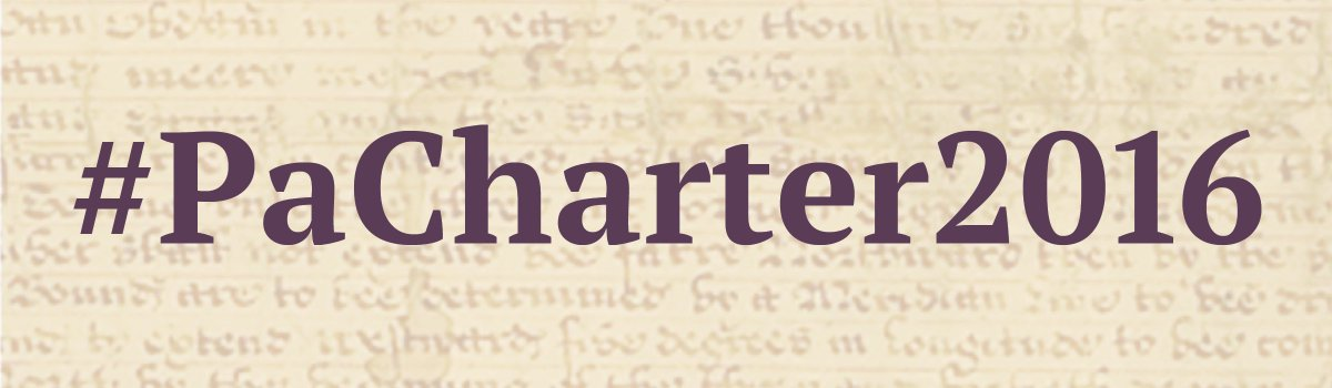 Today is Charter Day & we want to see your photos!  Use #PaCharter2016   https://t.co/oj2DftcMLc #archives https://t.co/tH3VCvccDW