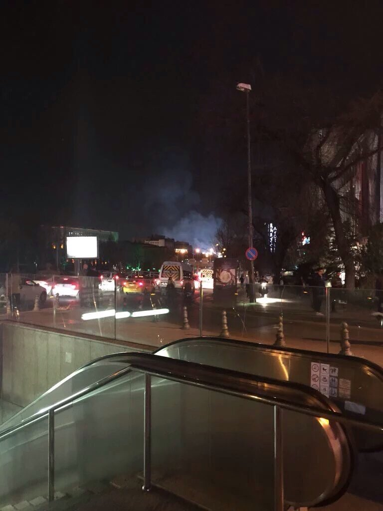 Ankara court bans Facebook and Twitter after images of explosion were shared online