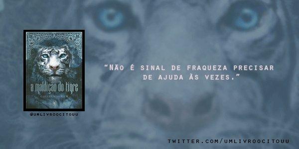 Trechos De Livros On Twitter Top Frases De Tigers Curse 8 A