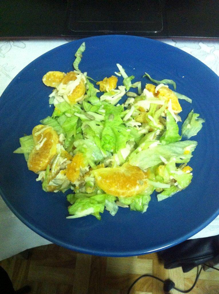 Рецепт салата курица с грибами и сыром