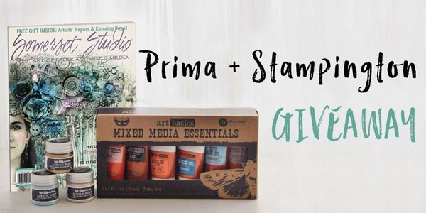GIVEAWAY! Retweet this image + follow @stampington and @Prima_Marketing for a chance to win. Contest ends 3/18. https://t.co/nIdFkNVdPe