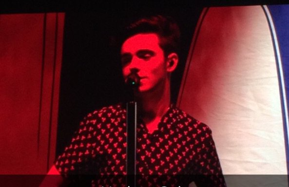 Loving @NathanSykes covering Ed Sheeran's #thinkingoutloud at the @LittleMix #GetWeirdTour in Cardiff https://t.co/ei9BJY8f40