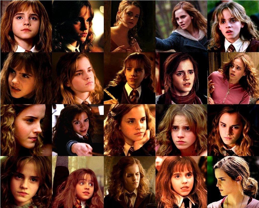 "harry potter world on twitter ""hermione granger through"