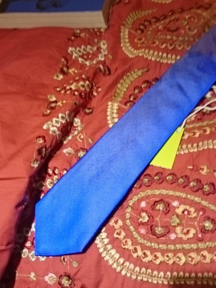 Klein Blue Tie