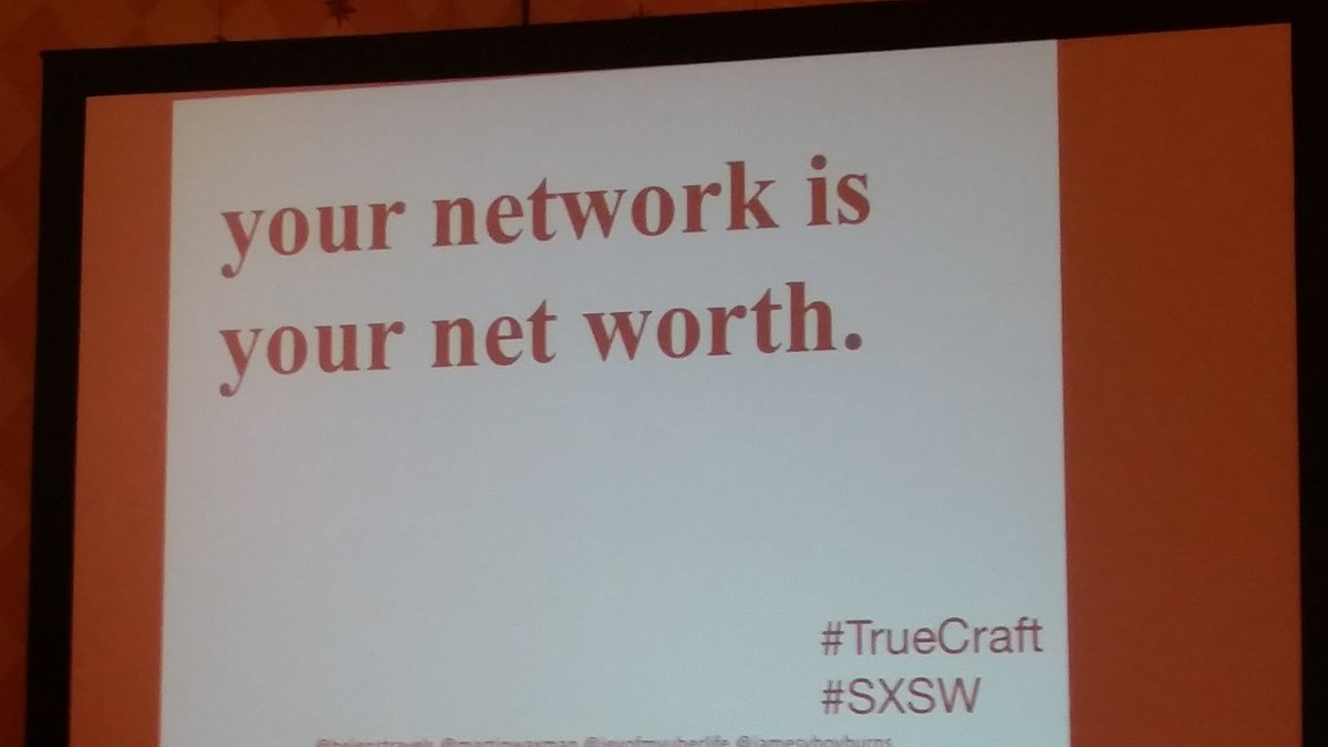 """""""How do you determine who to work with, among the waterfall - level of options?"""" - @helenstravels #truecraft #sxsw https://t.co/X6Bfv0EaKi"""