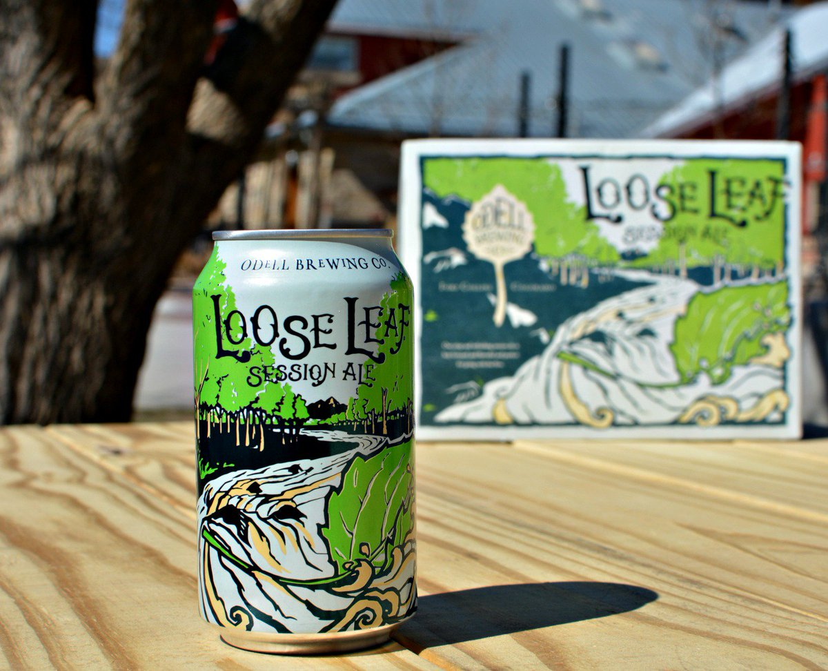 #LooseLeaf is now available in cans! Re-tweet if you're excited to take these on your next adventure. #craftbeer https://t.co/hFZFd8Mksx
