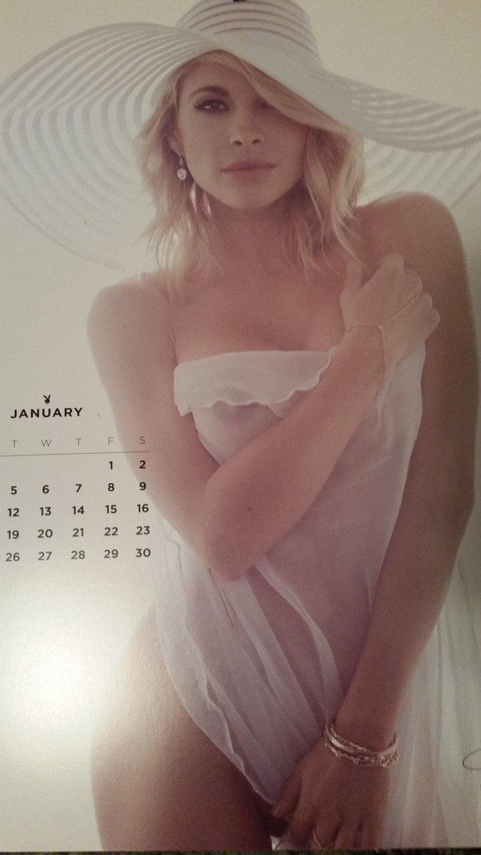 Playboy calendar 2016
