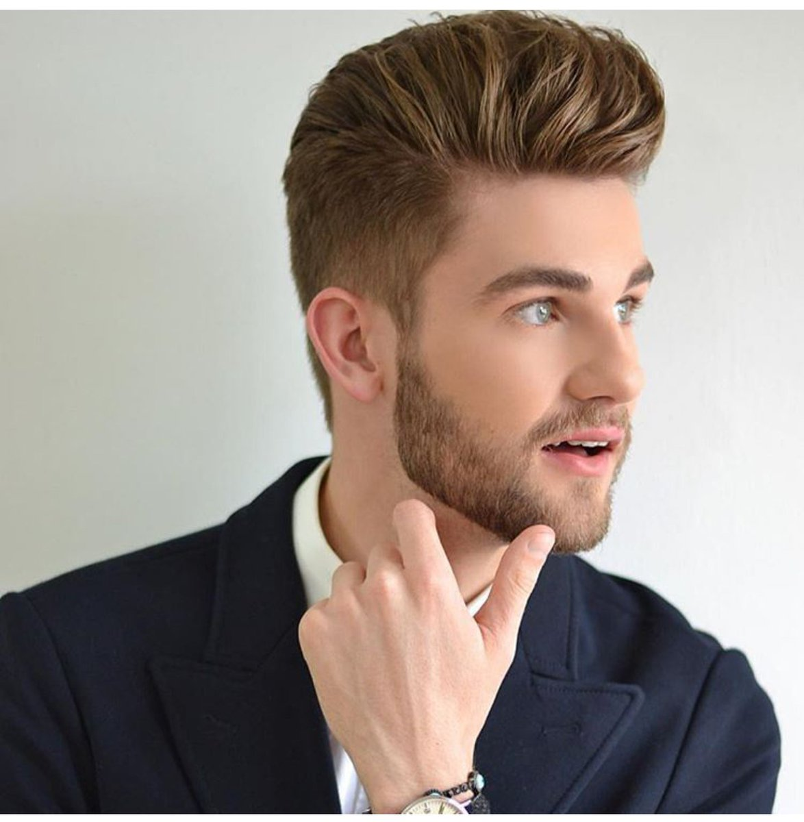 Latest Hairstyle With Beard Hairstyles