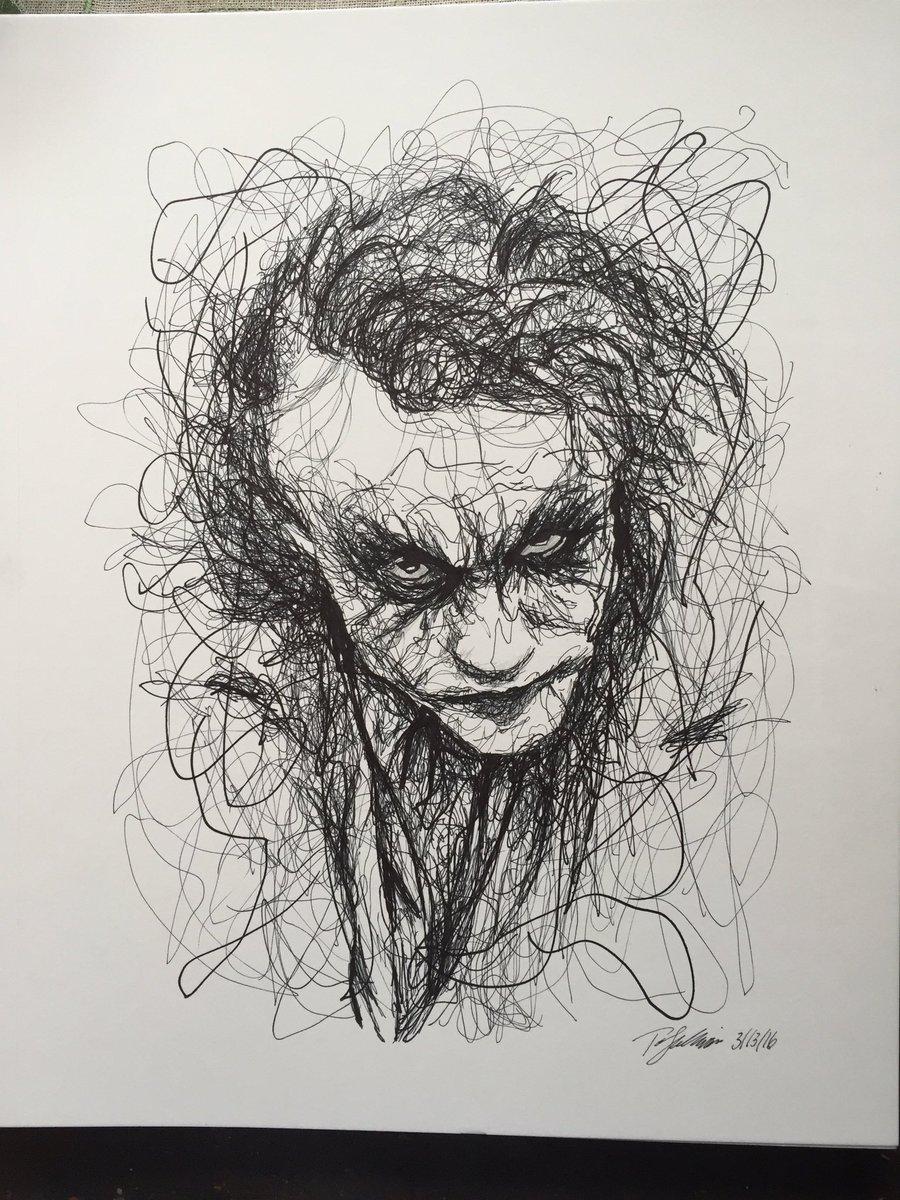 Thejoker joker batman sulbone art artist draw drawing sketch sketchbook messypic twitter com ebot5karvk