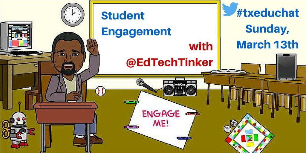 @Aldine_Lewis_MS come join @EdTechTinker this evening as he hosts #txeduchat https://t.co/YMM3jxP2mV