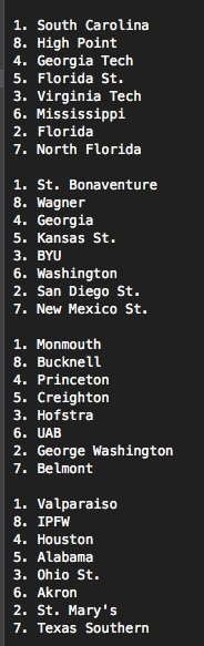 Site keeps crashing. Here's my FINAL projected NIT bracket: https://t.co/QbFyhJCMZS