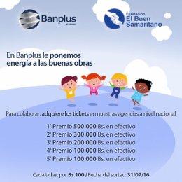 Banplus premió con 500.000 bolívares al ganador del sorteo.