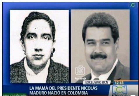 """""""Maduro è colombiano"""": non può essere presidente della Venezuela"""