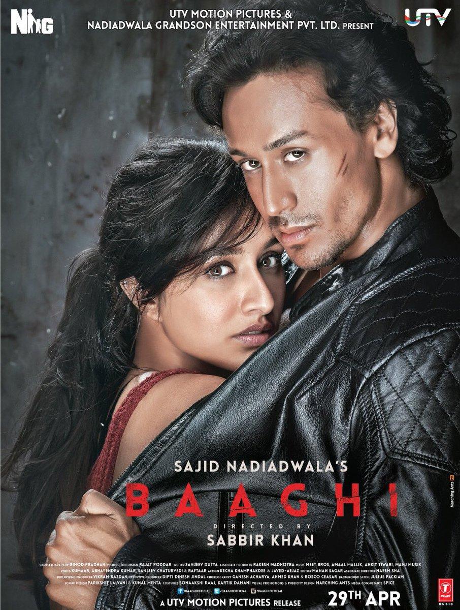 Baaghi, Shraddha Kapoor, Tiger Shroff