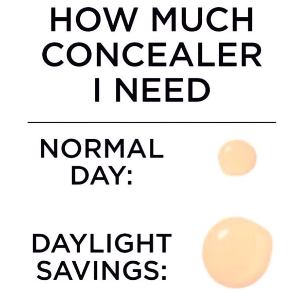 Lost an hour of sleep today!! Needed that extra pro long wear concealer!! #glamlife https://t.co/CorxlprnA2