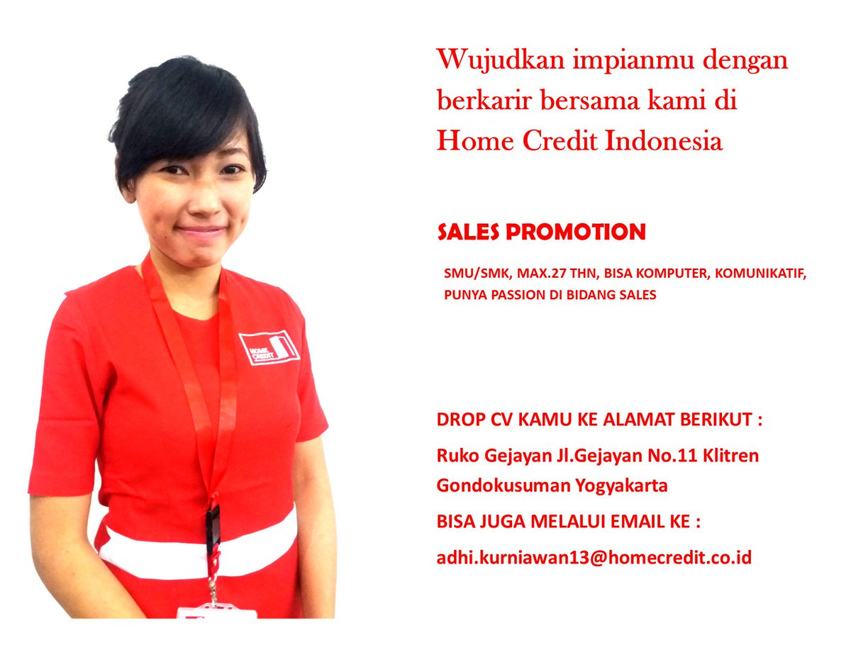 For Better World on Twitter JogjaLowongan Lowongan Sales
