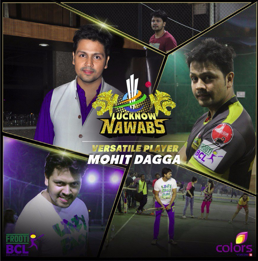 Mohit Dagga, Lucknow Nawab, BCL 2, BCL 2016